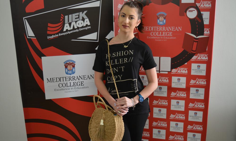 Η Νέλλη Κρεβετζάκη προτείνει το ΙΕΚ ΑΛΦΑ για σπουδές Αθλητισμού