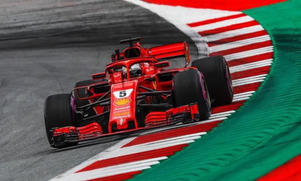 Formula 1: Νικητής ο Φέτελ στο «σπίτι» του Χάμιλτον