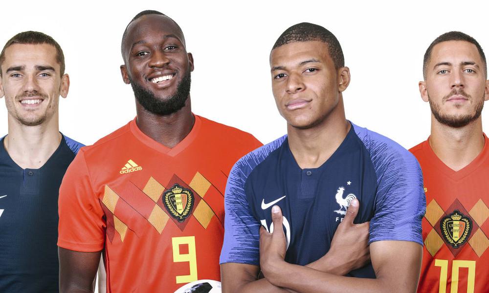 Παγκόσμιο Κύπελλο Ποδοσφαίρου 2018: Γαλλία - Βέλγιο: Ποιος θα προκριθεί;