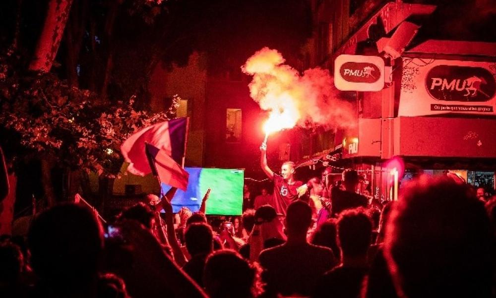 Παγκόσμιο Κύπελλο Ποδοσφαίρου 2018: 30 τραυματίες στην Γαλλία μετά την πρόκριση