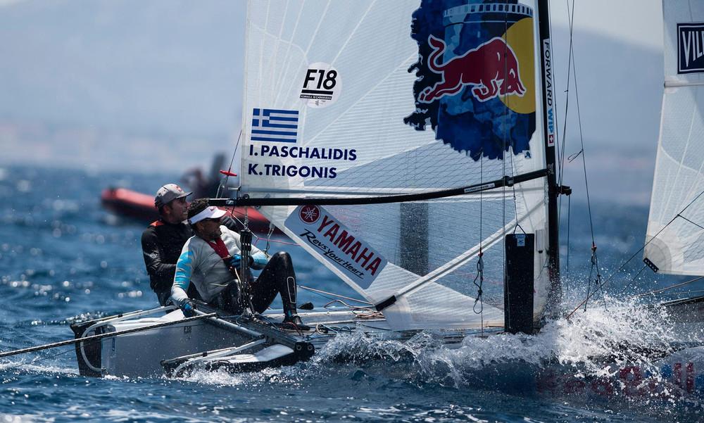 Πρωταθλητές Ευρώπης Formula 18 οι Κώστας Τριγκώνης και Ιορδάνης Πασχαλίδης (photos)