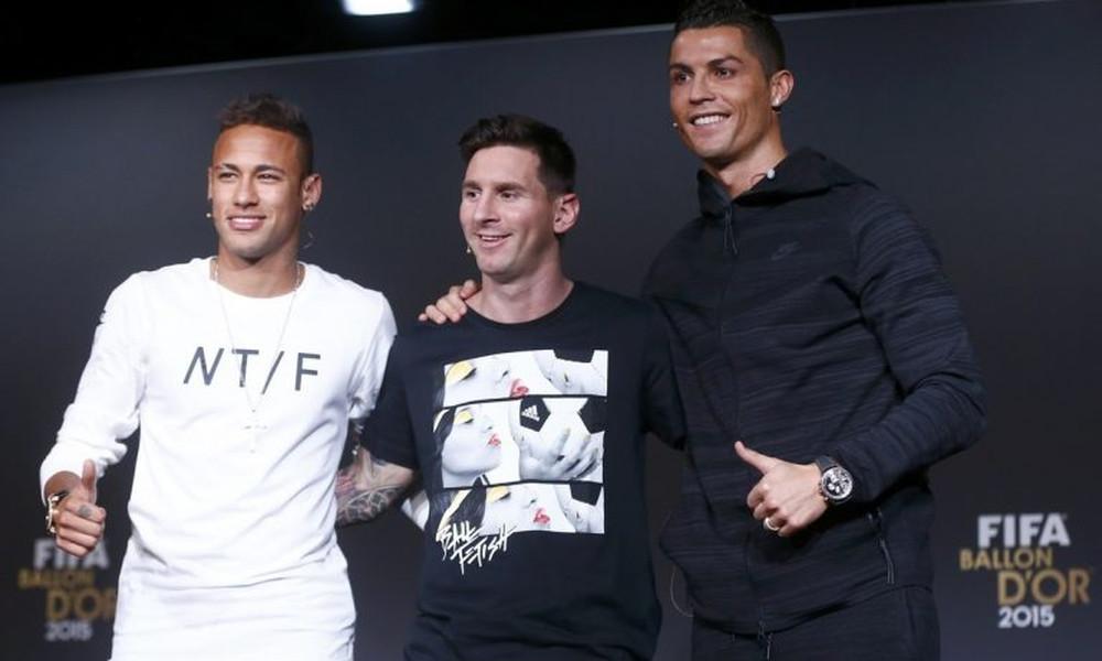 Με Μέσι, Νεϊμάρ και Ρονάλντο η λίστα των καλύτερων αμειβόμενων παικτών στον κόσμο