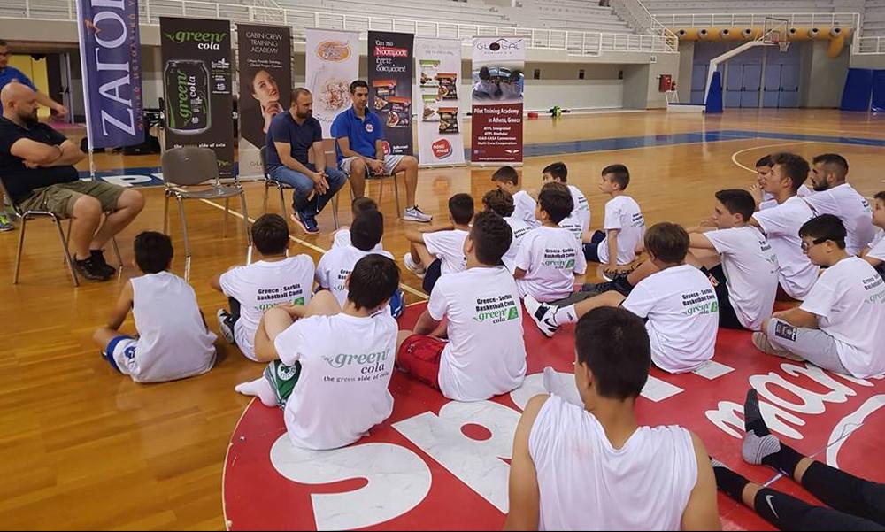 «Σάρωσε» ξανά το Greece Serbia Basketball Camp by Νίκος Χατζής