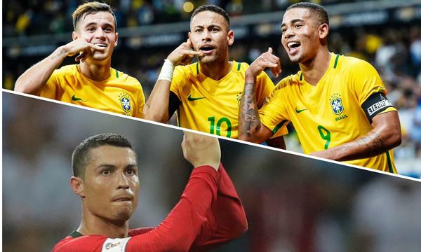Μουντιάλ 2018: Βραζιλία και Ρονάλντο οι «πρωταθλητές» στο instgram!