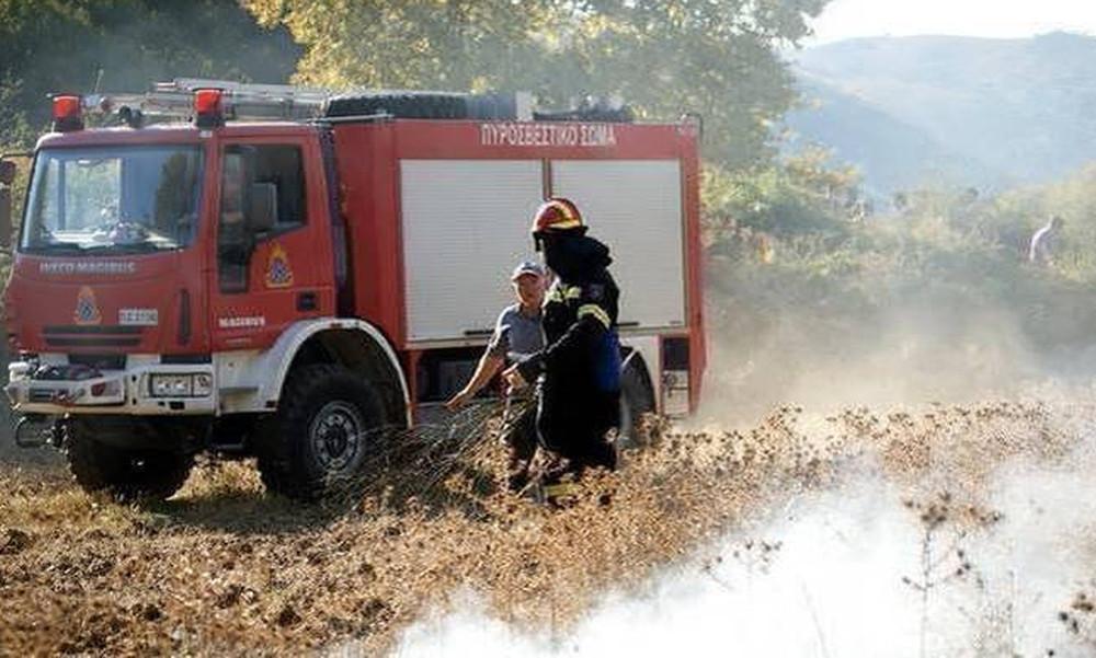 Ο χάρτης πρόβλεψης κινδύνου πυρκαγιάς για την Τετάρτη 18/7 (photo)