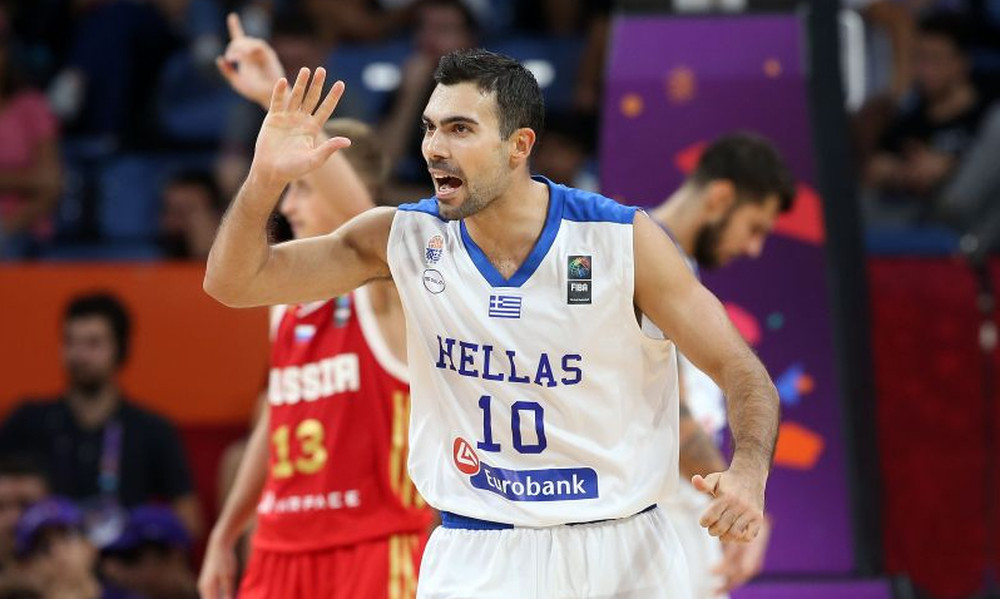 Σλούκας: «Θα παίξω με την Εθνική τον Σεπτέμβριο»