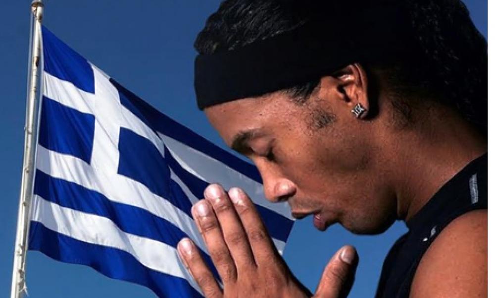 Συγκλονιστικό μήνυμα αγάπης από Ροναλντίνιο: «Κουράγιο Έλληνες αδελφοί μου» (photo)