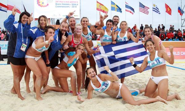 Mπιτς χάντμπολ: Πρωταθλήτρια κόσμου η Εθνική γυναικών! (video)