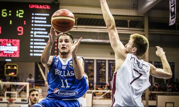 Ευρωπαϊκό Πρωτάθλημα U18: «Λύγισε» από την Λετονία η Ελλάδα