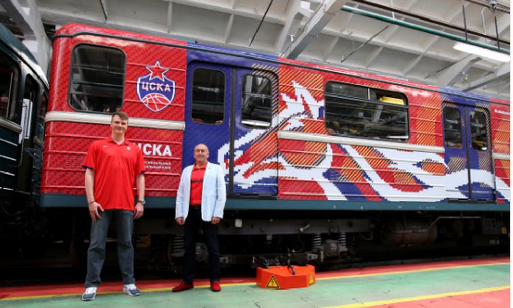 Η ΤΣΣΚΑ έγινε τρένο! (video)
