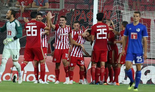 Ολυμπιακός-Λουκέρνη 4-0: Πάρτι πρόκρισης με Λάζαρο και Γκερέρο!