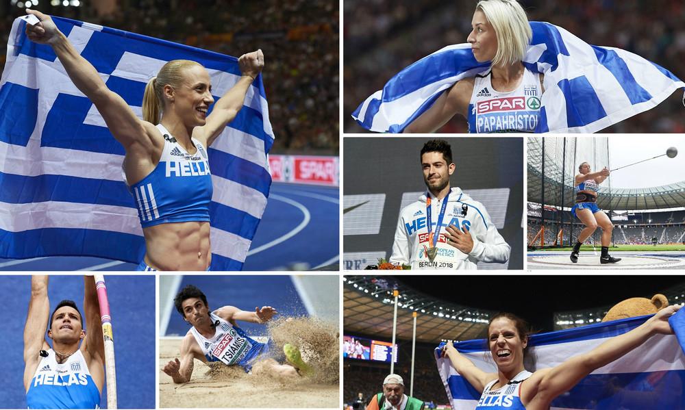 Ευρωπαϊκό πρωτάθλημα στίβου: Τα 28 ελληνικά μετάλλια στη διοργάνωση