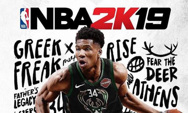 Δείτε τον Γιάννη Αντετοκούνμπο στο NBA 2K19! (video)