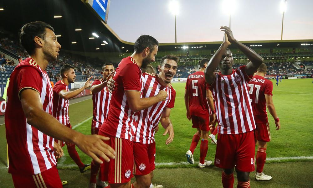 Λουκέρνη-Ολυμπιακός 1-3: Έκανε νέο πάρτι με Λάζαρο!