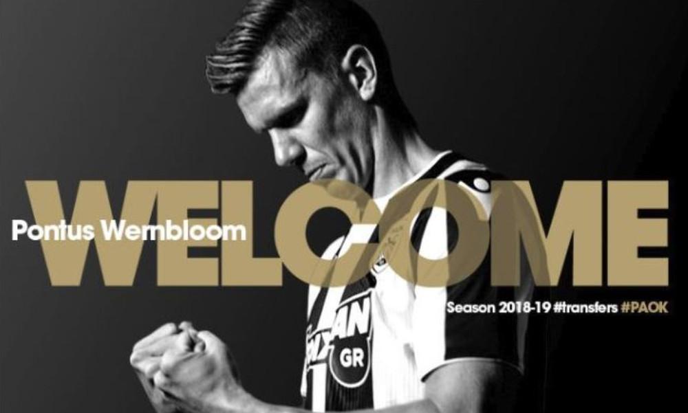 Επίσημο: Στον ΠΑΟΚ ο Βέρνμπλουμ με εντυπωσιακό βίντεο!