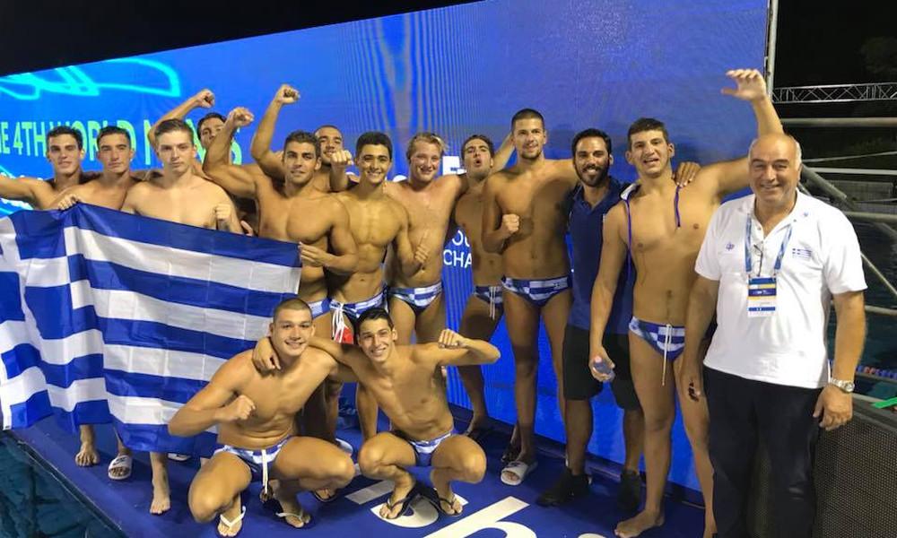 61471bfbf389 Παγκόσμιο Εφήβων πόλο  Στην κορυφή του κόσμου η Ελλάδα! - Onsports.gr