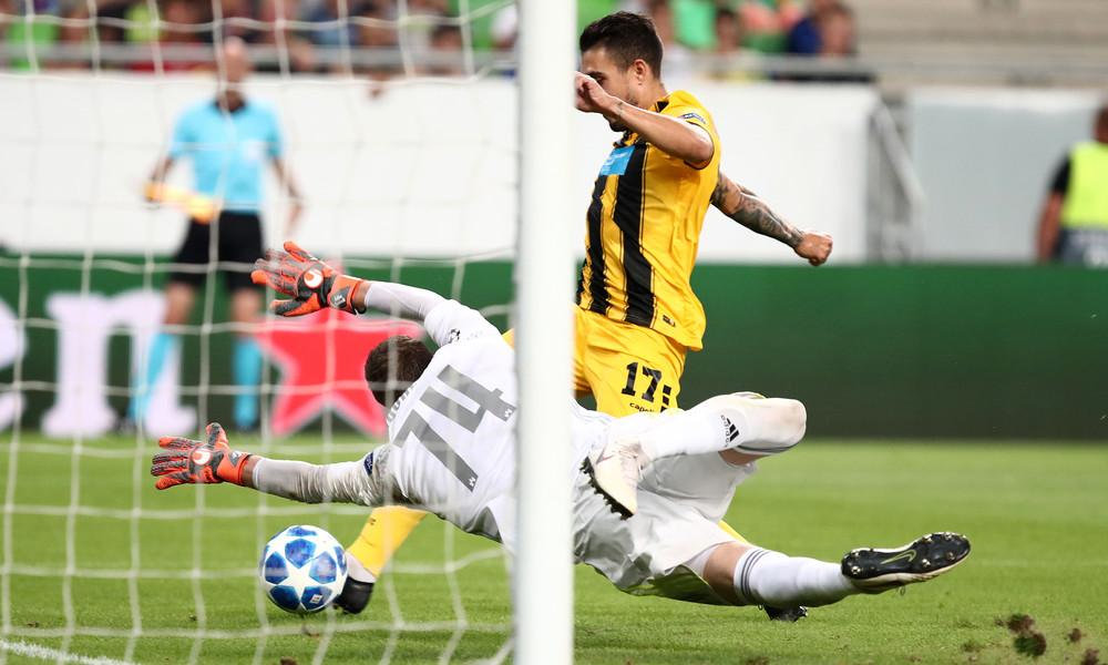 Το 0-1 της ΑΕΚ με Κλωναρίδη (video)