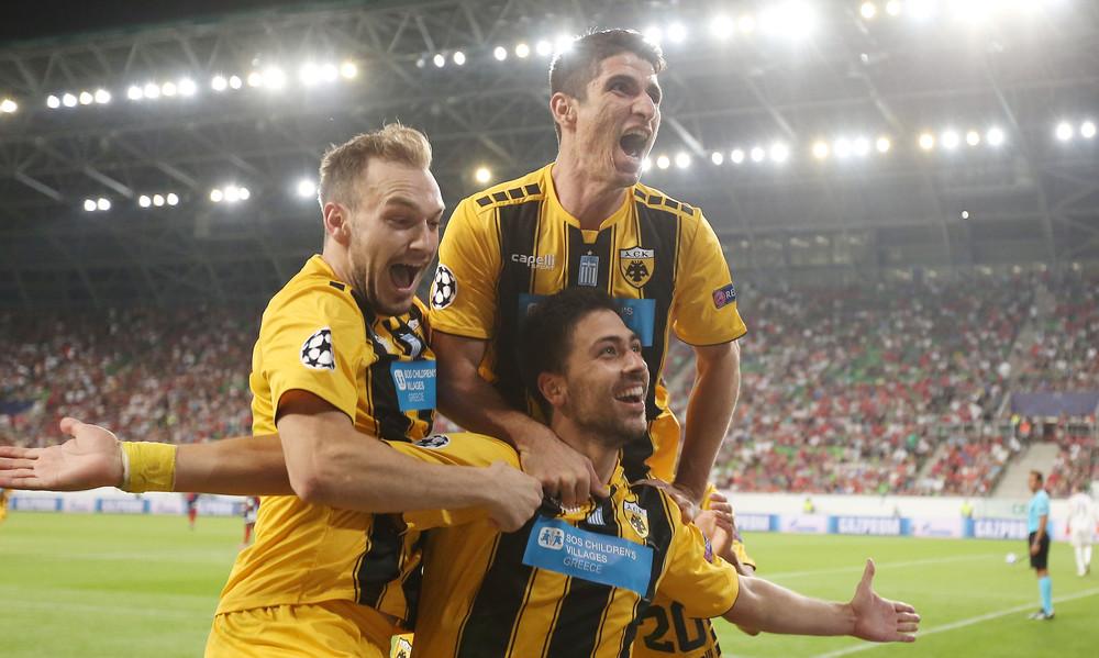Βίντι-ΑΕΚ 1-2: Τα γκολ του αγώνα (videos)