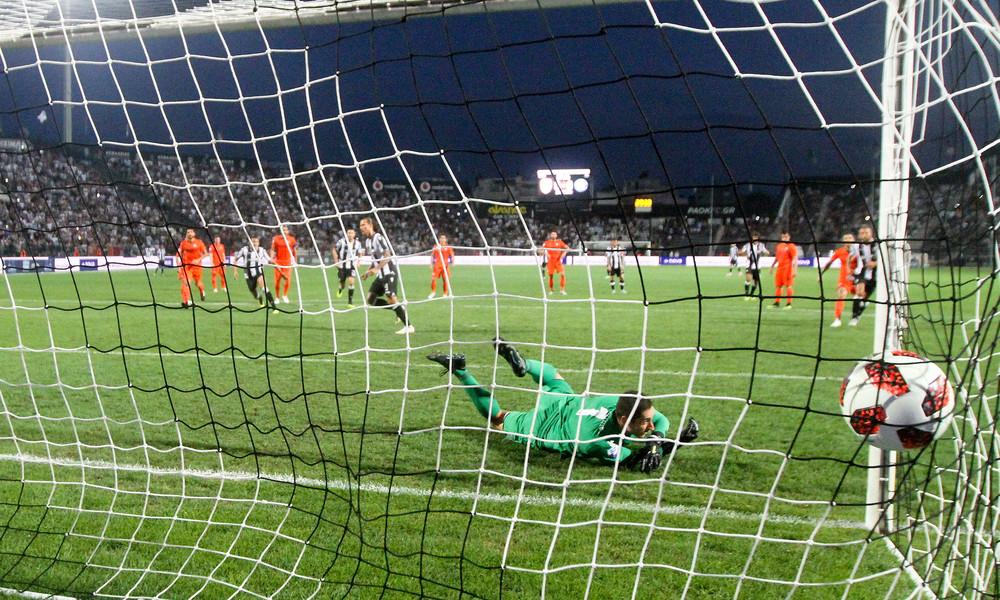 Το πέναλτι που κέρδισε ο Πρίγιοβιτς και χάρισε τη νίκη στον ΠΑΟΚ (video)