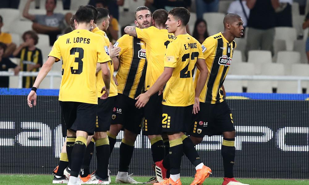 ΑΕΚ-ΠΑΣ Γιάννινα 2-0: Ιδανικό ξεκίνημα με Λιβάγια!