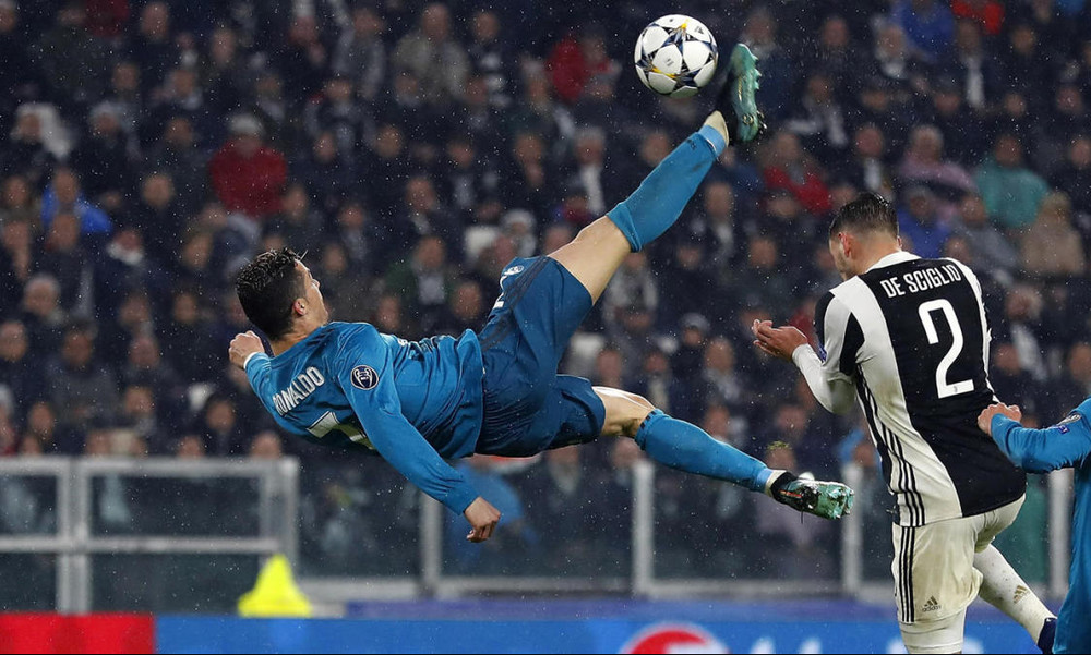 Champions League: Κορυφαία γκολάρα το «ψαλιδάκι» του Κριστιάνο (video)