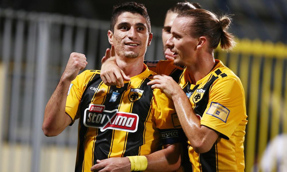 Αστέρας Τρίπολης-ΑΕΚ 0-1: Απόδραση με... πέναλτι
