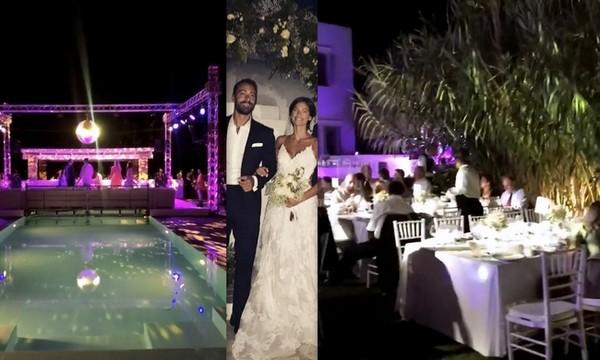 Τανιμανίδης - Μπόμπα: Μετά τον παραμυθένιο γάμο η λαμπερή δεξίωση - Ο χορός του ζευγαριού