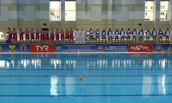 Live streaming – Τελικός Ευρωπαϊκού Πρωταθλήματος Πόλο Νέων Ανδρών: Μαυροβούνιο-Ελλάδα