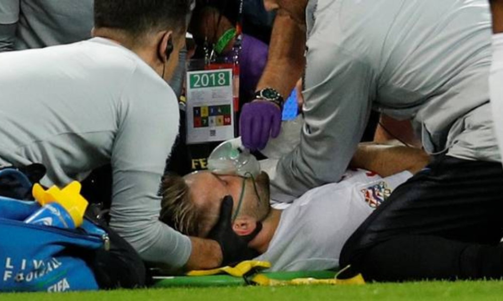 Ο σοκαριστικός τραυματισμός του Σο στο Αγγλία-Ισπανία (video)