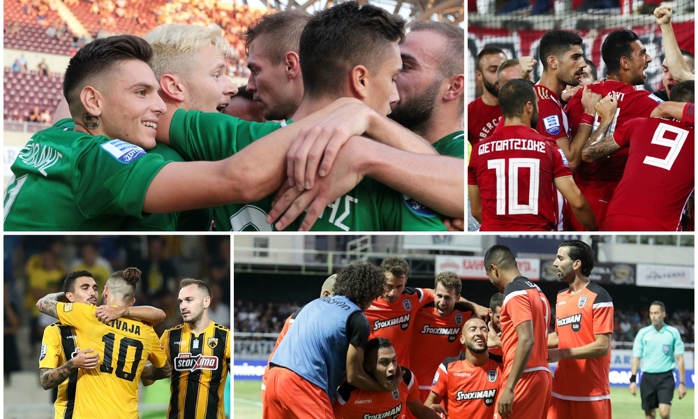 Super League: Ιστορικό ρεκόρ από Παναθηναϊκό, Ολυμπιακό, ΠΑΟΚ και ΑΕΚ