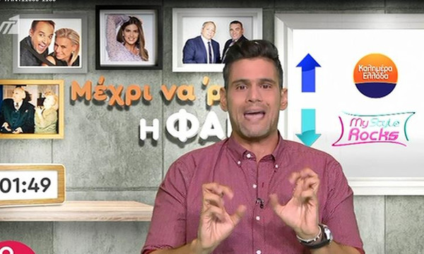 Δημήτρης Ουγγαρέζος: Η φαρμακερή ατάκα του για τα χαμηλά νούμερα τηλεθέασης on air