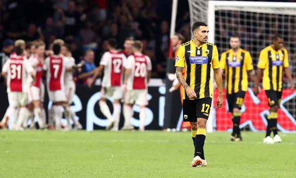 Άγιαξ-ΑΕΚ 3-0: Υπέκυψε στην ανωτερότητά του (video)