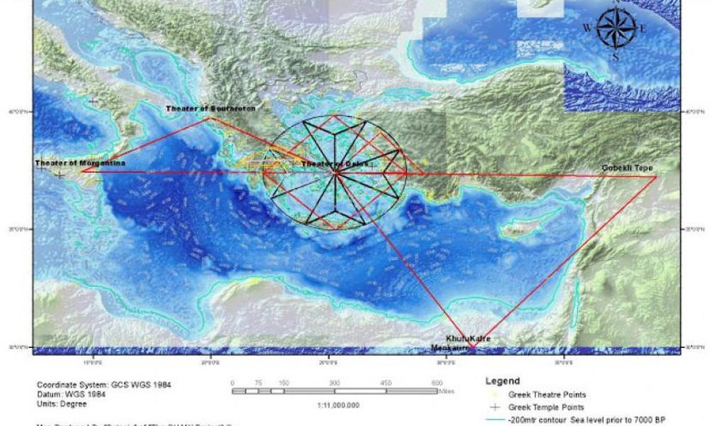 Πρώην τεχνικός της NASA αποκαλύπτει την απόκρυφη γεωμετρία του Ελλαδικού χώρου