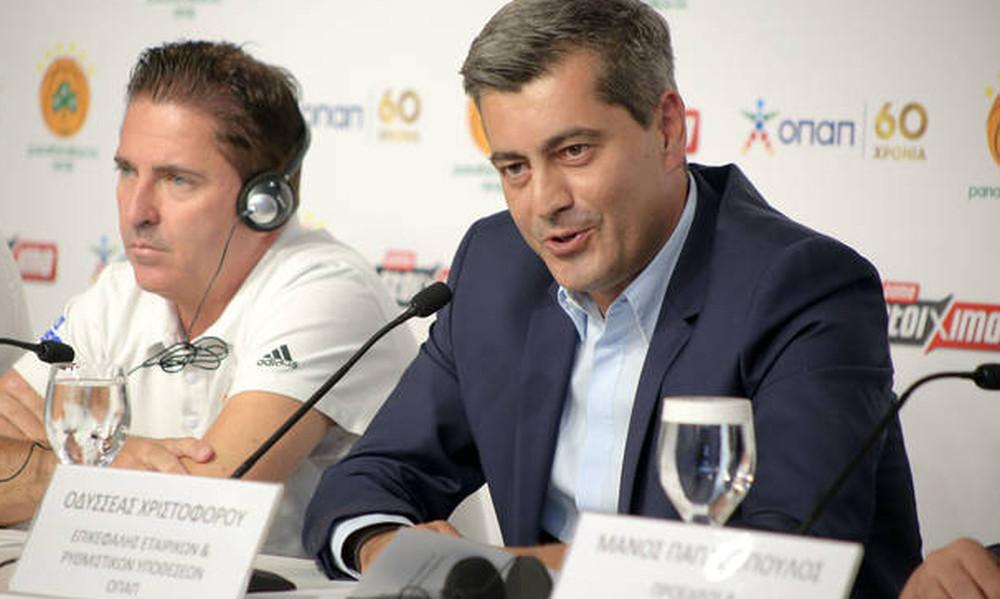 Χριστοφόρου: «Πιο πετυχημένη ομάδα σε Ελλάδα και Ευρώπη»