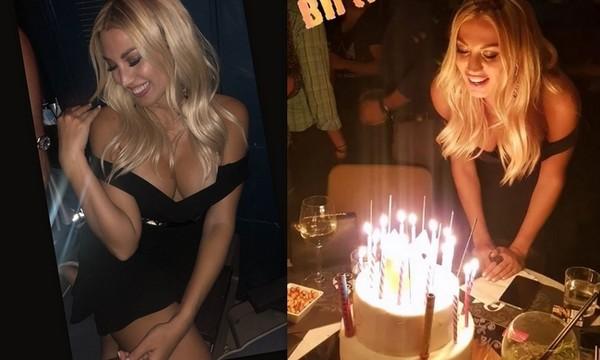 Η Κωνσταντίνα Σπυροπούλου με σέξι εμφάνιση γιόρτασε τα 30α της γενέθλια
