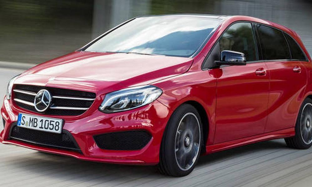 Πρεμιέρα για τη νέα Mercedes B-Class στις αρχές Οκτωβρίου
