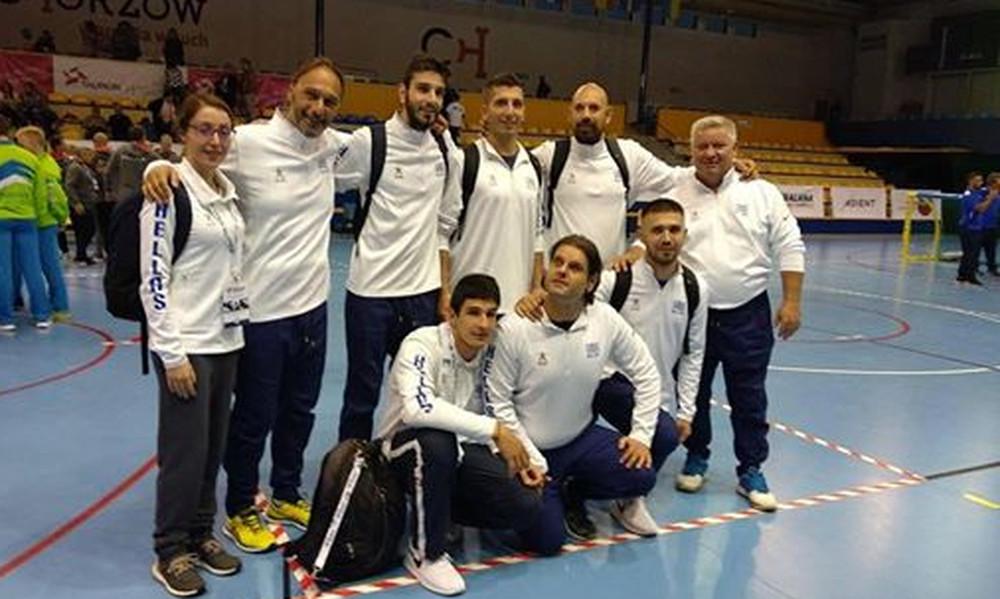 «Ασημένια» η εθνική ανδρών στο Ευρωπαϊκό γκόλμπολ