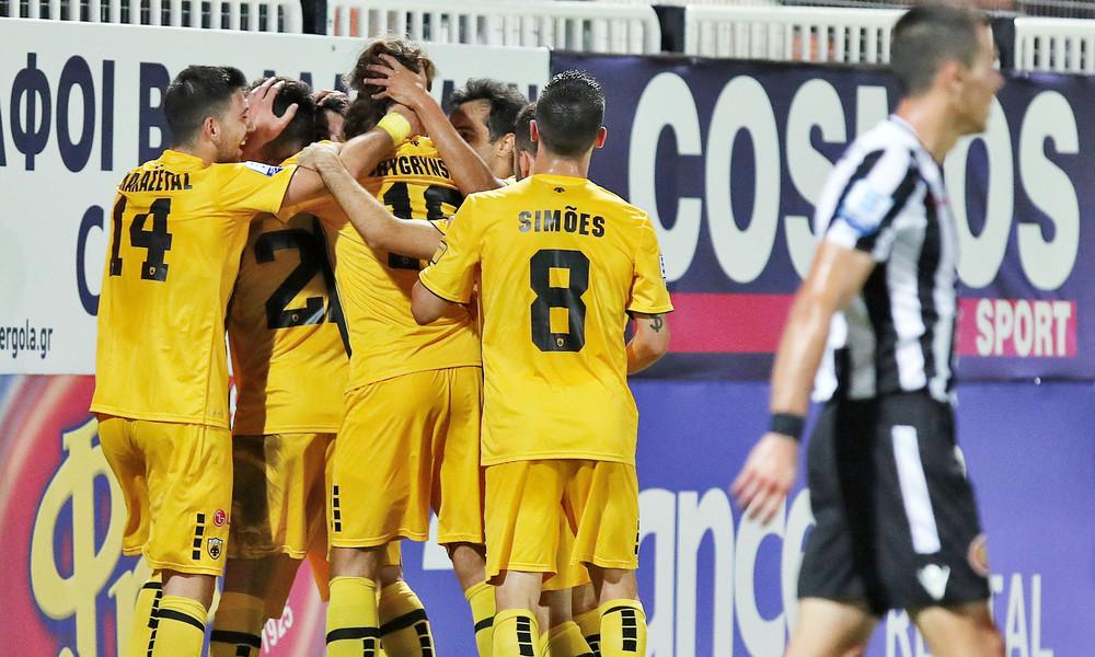 ΟΦΗ-ΑΕΚ 0-3: Πέρασε από το Ηράκλειο και βλέπει με ηρεμία το ντέρμπι