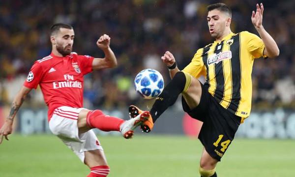 Live Chat AEK-Μπενφίκα 2-3 (τελικό)