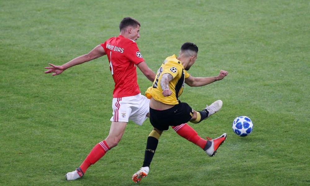 ΑΕΚ - Μπενφίκα 1-2: Μείωσε ο Κλωναρίδης (video)