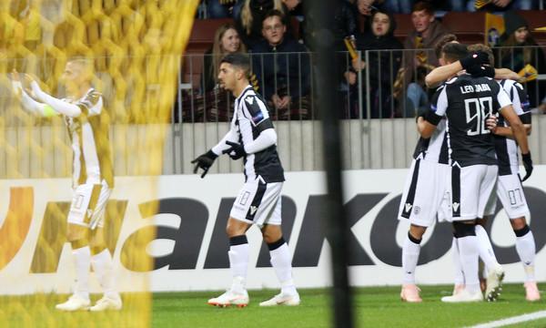ΜΠΑΤΕ Μπορίσοφ-ΠΑΟΚ: Αδιανόητο 0-3 σε 17 λεπτά με γκολάρες Πρίγιοβιτς, Ζαμπά! (videos)