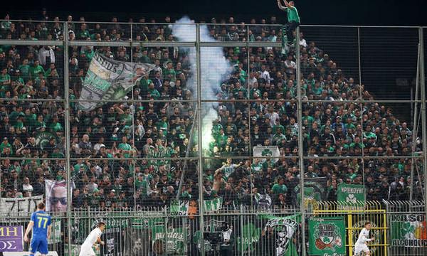 Αστέρας Τρίπολης-Παναθηναϊκός: Πανό κατά Αλαφούζου (photo)