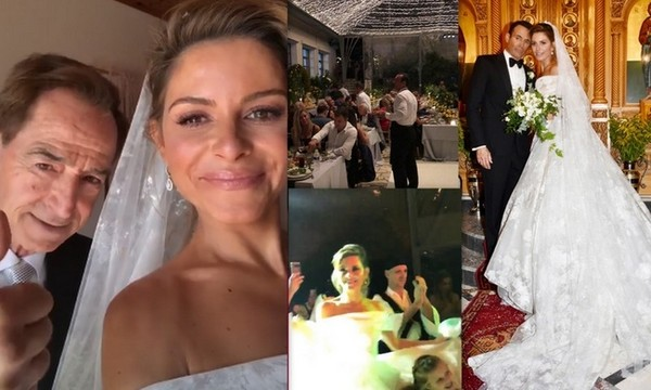 Η Μαρία με τα… κίτρινα, το συγκρότημα της νύφης με τον γαμπρό στα ντραμς και οι… λεμονιές!