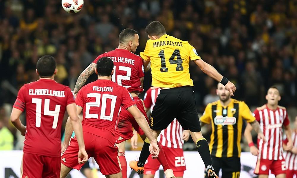 ΑΕΚ-Ολυμπιακός 1-1: Το... έσωσε με Μπακασέτα!