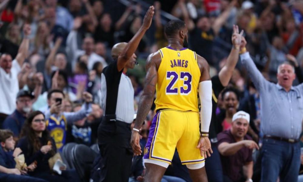 NBA: Νίκη για Λεμπρόν απέναντι στους Γουόριορς! (video)