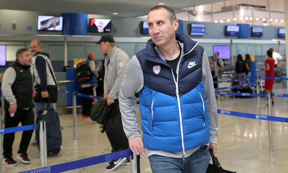 Αναχώρησε για Μόσχα ο Ολυμπιακός (photos)