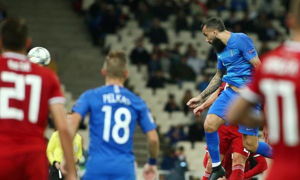Ελλάδα – Ουγγαρία 1-0: Το γκολ του Μήτρογλου (video)