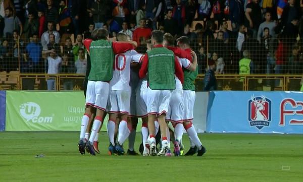 Nations League: Μεγάλη νίκη για Γιβραλτάρ μέσα στην Αρμενία!