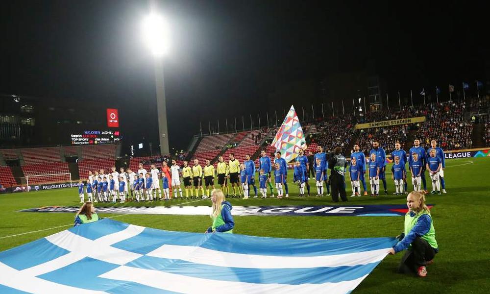 Φινλανδία-Ελλάδα: Επικό πανό με... σουβλάκια στο Τάμπερε! (photos)