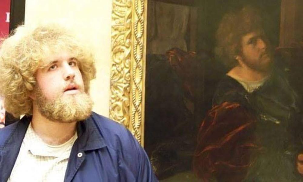 Η αμήχανη στιγμή που βλέπεις το πρόσωπό σου σε γνωστά έργα τέχνης (photos)